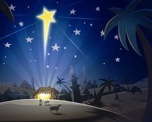 affiche kerstfeest