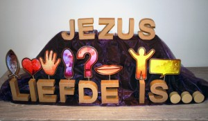 jezus liefde is ..
